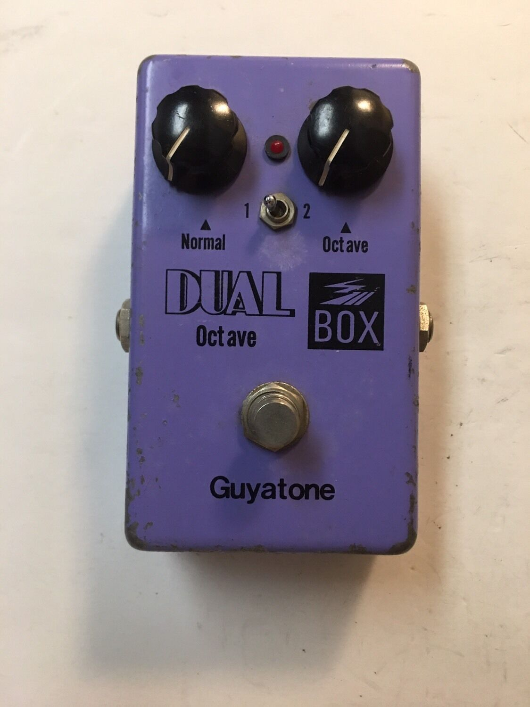 Guyatone PS-106 Dual Octave Box Rare Vintage Guitar Effect Pedal MIJ Japan