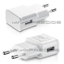CARGADOR 2A 2000MAH RED CASA PARED USB SAMSUNG GALAXY NOTE 4 3 2 BLANCO