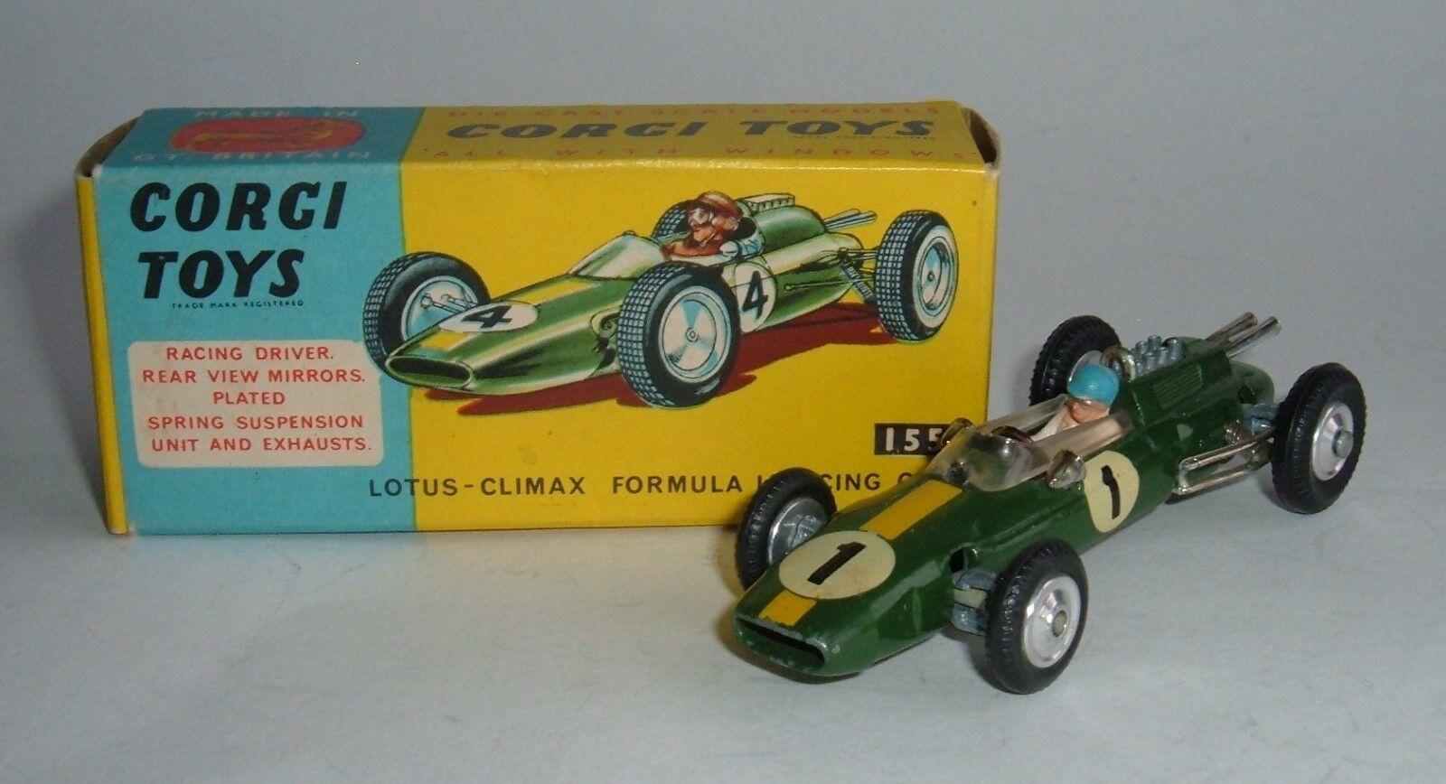 CORGI TOYS Nº 155, LOTUS-CLIMAX F1 Auto da Corsa, - SUPERBA