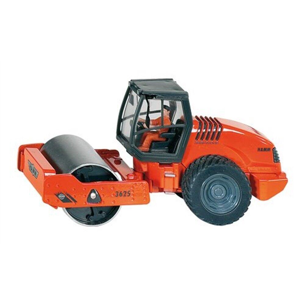 diseño simple y generoso Siku Hamm Laminador Drive-escala 1 50, escala 150 de vehículo vehículo vehículo compactador de tambor  cómodo