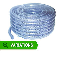 item 3 PVC Flexible Braided Water Hose Fish Pond Plastic Pipe Hydrophonics Tubing RPVC -PVC Flexible Braided Water Hose Fish Pond Plastic Pipe Hydrophonics ...  sc 1 st  eBay & PVC Fiber Reinforced Tube Clear Plastic Hose Pipe 32mm 3 Metres | eBay