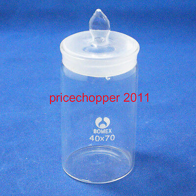 Lab Glass Weighing Bottle, Tall Form, 40mmx70mm
