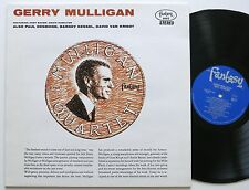 GERRY MULLIGAN / CHET BAKER / PAUL DESMOND FANTASY REMASTERED LP MINT-