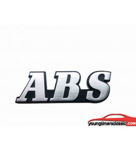 Monogramme-ABS-pour-RENAULT-21-2L-Turbo-ALU-BROSSE