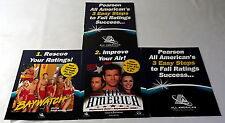 1998 Lot of 5 All American Television Company Promos ~ BAYWATCH, AIR AMERICA