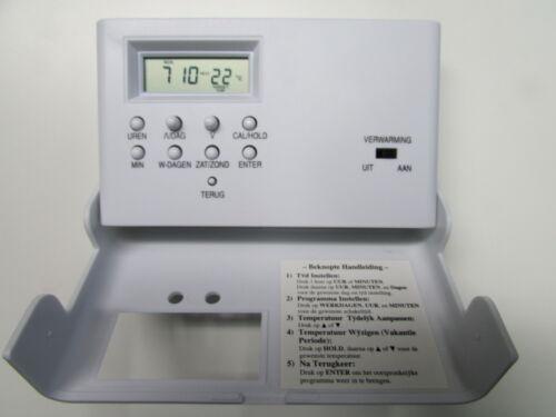 TERMOSTATO settimane programma 12-24v BATTERIA-Temperatura di esercizio Regolatore Regolatore