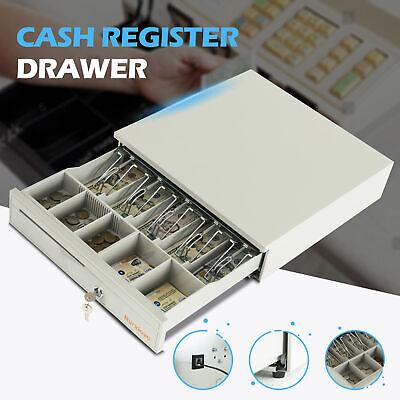 RJ11 RJ12 5//8 Steel Heavy Duty Point Of Sales POS System Cash Drawer
