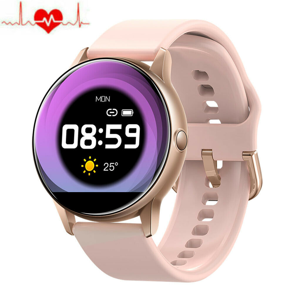Chic Women Smart Watch Heart Rate Wristband for iPhone 7 8 X 11 XS XR Samsung LG chic Featured for heart iphone rate samsung smart watch women wristband