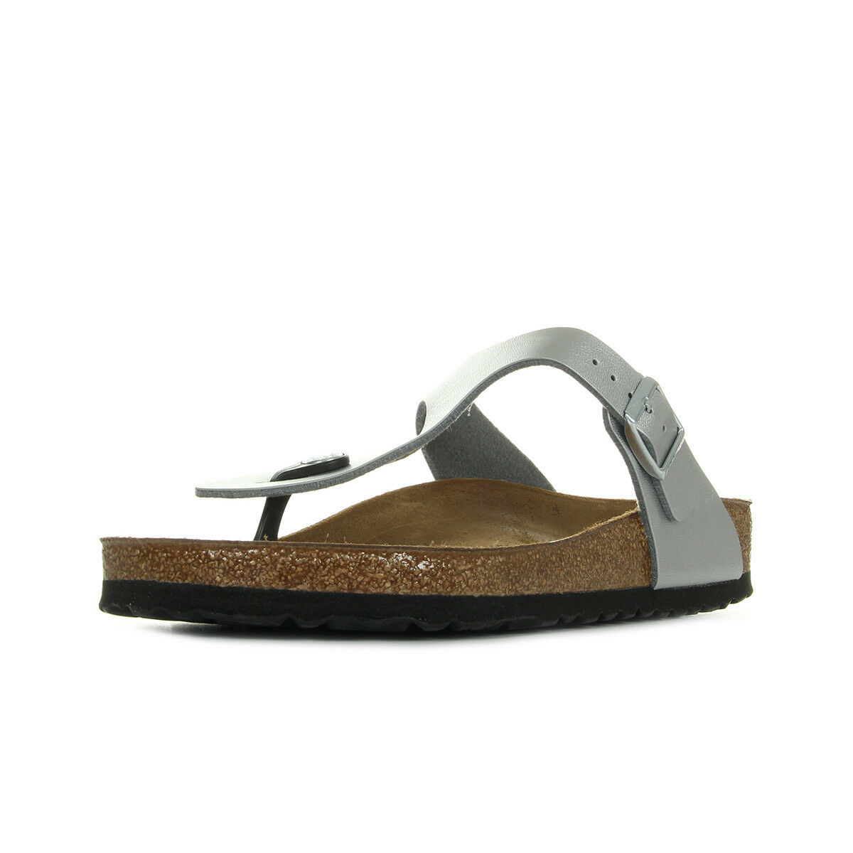 Tongs Birkenstock Synthétique femme Gizeh taille Argent Synthétique Birkenstock A boucles b0b05f