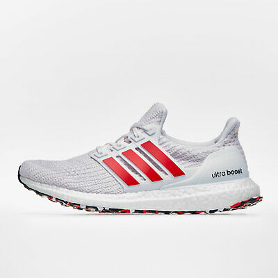 Adidas Mens Ultra Boost Running Shoes Jogging Footwear Sports Trainers White Online Shop