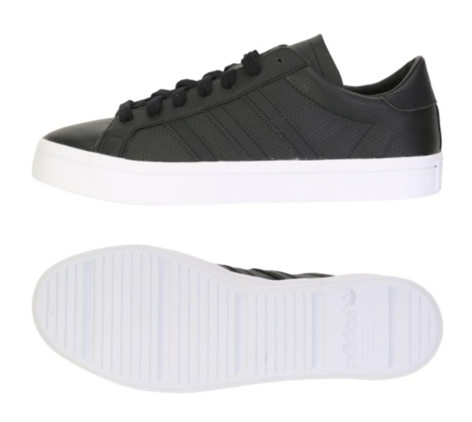 Adidas Hombre Originals Tribunal Vantage Entrenamiento Calzado Negro tenis de correr BZ0442