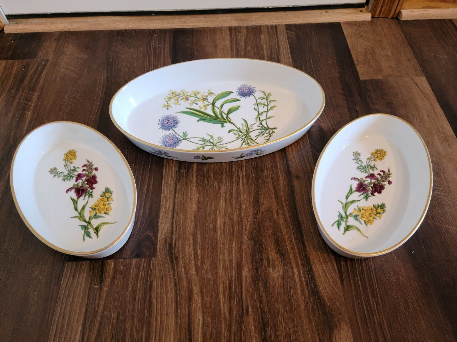 Spode Stafford wild rose wild flower oven to tableware made in ...