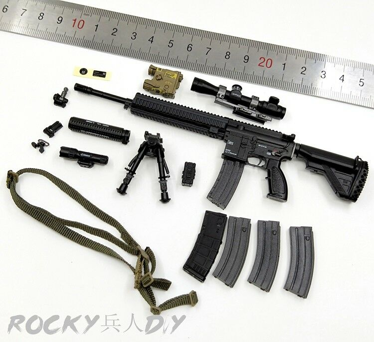 M38 Rifle & Accessories for Easy&Simple ES 26027 MSOT MARSOC RAIDER 1/6 Scale