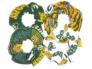 Green-Bay-Packers-Hair-Scrunchie-Ties-NFL-Ponytail-Holder-Scrunchies-by-Sherry