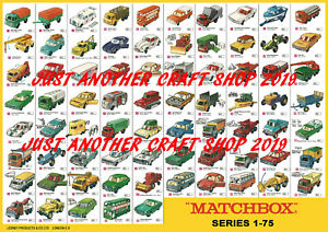 Matchbox-Series-1-75-A2-Size-Very-Large-Poster-Shop-Sign-Advert-from-1969