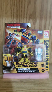 Transformers War For Cybertron Buzzworthy Bumblebee Spike Witwicky 2-Pack