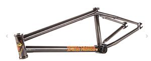 S&M Bikes BTM TRANS Negro 20.75 Mike HODER SIGNATURE Marco Bicicleta Bmx Fit 20.75