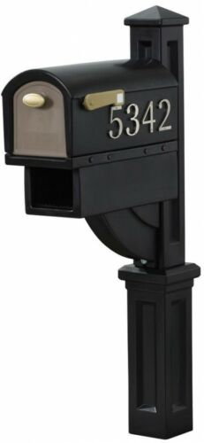 Mailbox For Post All in One Includes Post Step2 MailMaster Hudson Weather Resist