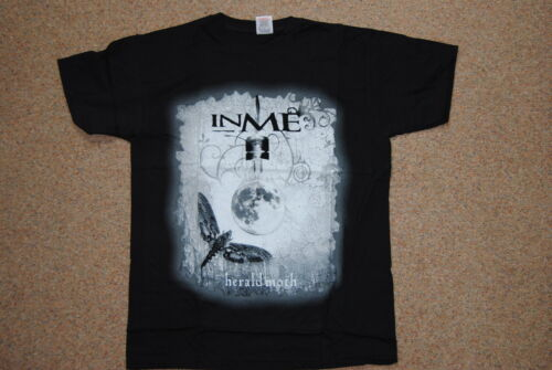 INME HERALD MOTH T SHIRT YOUTH 12-13 YEARS NEW OFFICIAL WHITE BUTTERFLY PRIDE