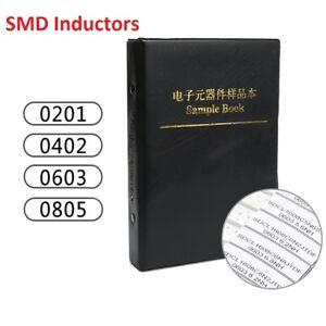 Components-Samples-Book-0201-0402-0603-0805-SMD-SMT-Chip-Inductors-Assorted-Kit