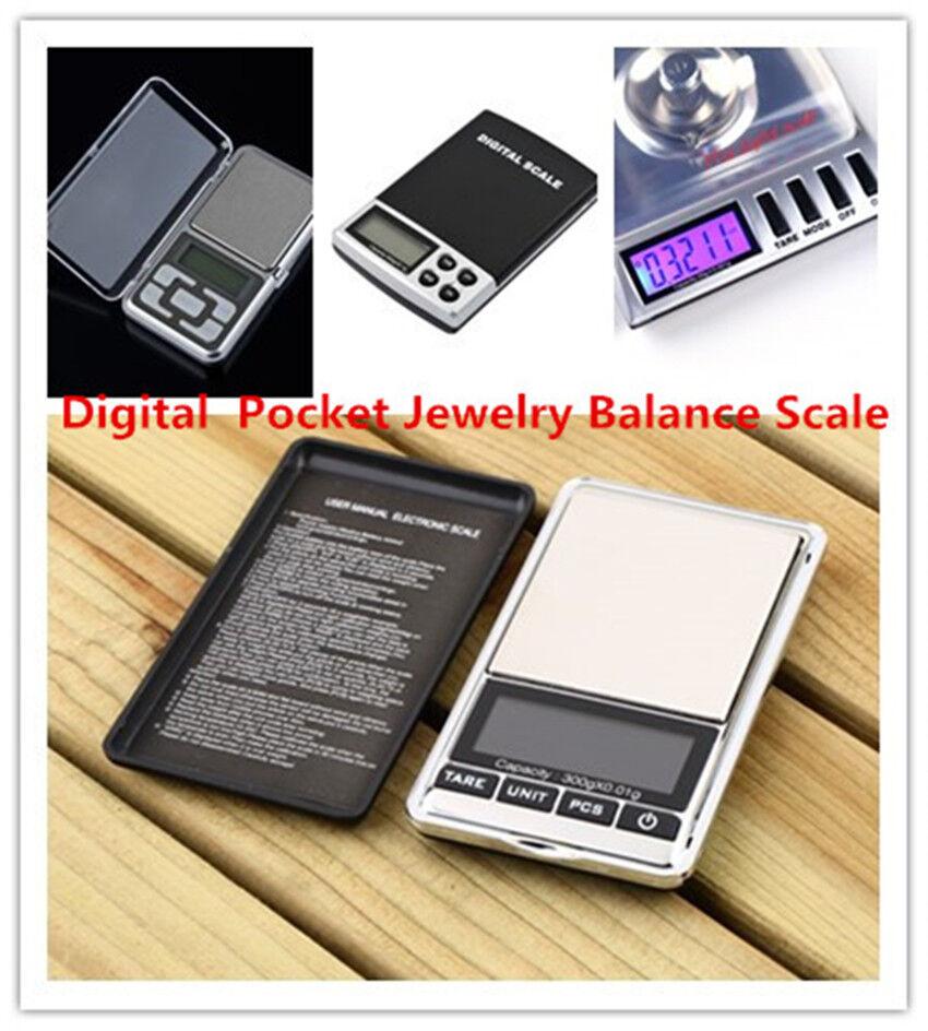 500g x 0.01g Digital Pocket Jewelry Balance LCD Scale / Calibration Weight LA 2