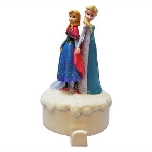 Disney Frozen Anna and Elsa Character Christmas Stocking Holder