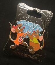 Disney Pin WDI Cinderella Jaq & Gus Diamond Pin