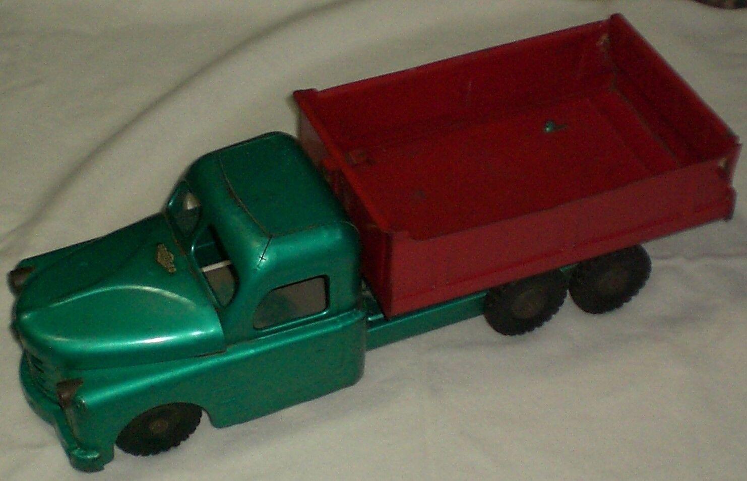 Vintage Structo Pressed Steel Dump Truck