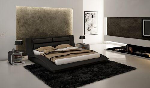 Details About Wave Contemporary King Bedroom Set In Black 40Piece Cool Designer Bedroom Sets
