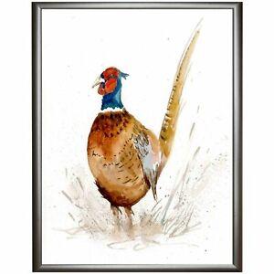PHEASANT-Diane-Antone-Original-Watercolor-Paintings-CHRISTMAS-GIFT-IDEA-BARGAIN