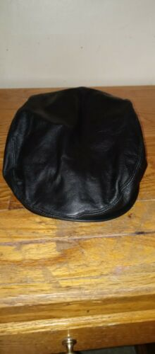 Vintage A Adams And Spire Black leather Caddy News