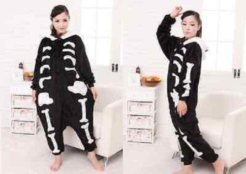 Unisex Adult Pajamas Kigurumi Cosplay Animal  Sleepwear //Shoes Skeleton~