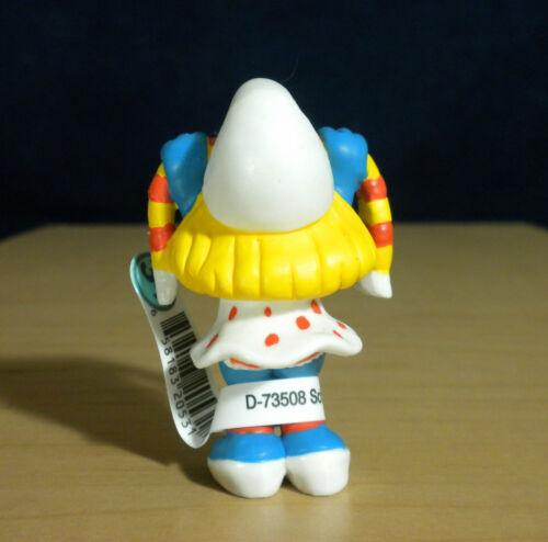 Details about  /Smurfs 20531 Fan Smurfette Soccer Smurf Vintage PVC Toy Sports Figure Schleich
