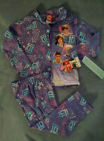 Girls-size-small-pajama-set-1d-one-direction-purple-long-sleeves-long-pants-fall