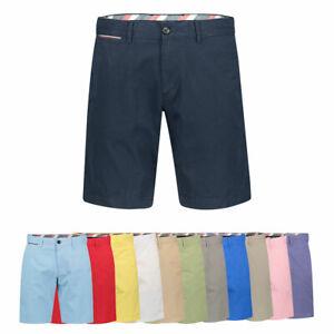 Tommy-Hilfiger-Herren-Bermudas-Shorts-NEU-Blau-Gruen-Gelb-Beige