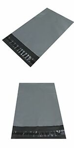 NEW Plastic Strong Packaging Postal Polythene Mailing Bag 10-Sizes GREY