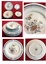 thumbnail 1 - VINTAGE-Ranmaru-Fine-China-Dinnerware-IMPERIAL-GARDEN-8-Piece-Set-Peking-China