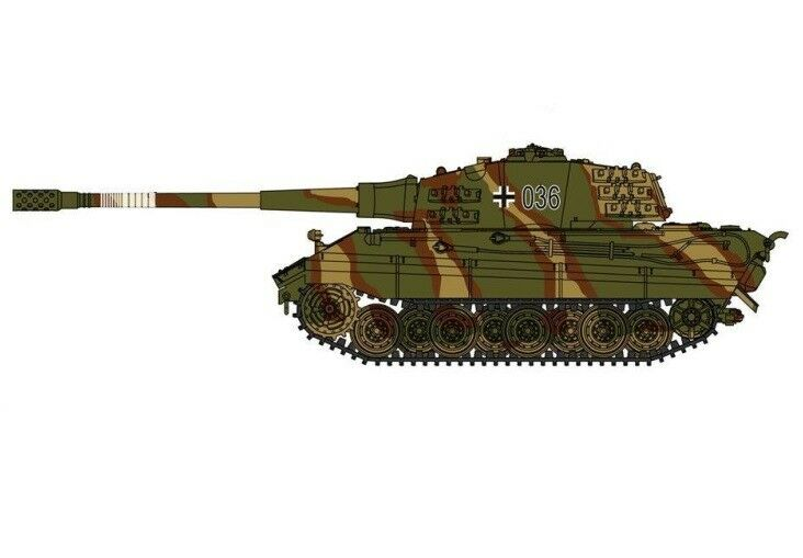 Modelcollect 1 72 WWII Germany E-75 Heavy Tank with 128 L55 Gun 1946