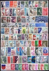 Francia-Lotto-di-104-francobolli-Nuovi-MNH