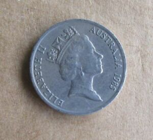 AUSTRALIAN-1985-10-CENT-COIN-LOW-MINTAGE-KEY-DATE