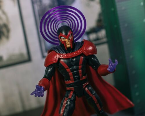 Marvel Legends 1//12 Translucent Purple Magneto Powers EFFECT ONLY Mezco