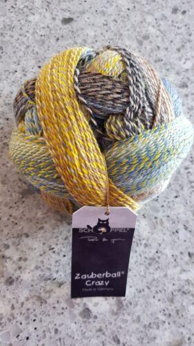 Schoppel Wolle Crazy Zauberball Sock Yarn #2332 Hourglass 100g