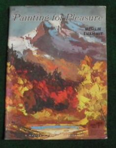 "Art Supplies Dedicated Vintage ""painting For Pleasure"" #109 By Merlin Enabnit Pub By Walter T Foster Catalogues Will Be Sent Upon Request Crafts"