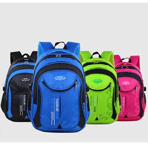 6fcdc3f329 Boys Girls Nylon Backpack School Bag Children Kids Travel Book Bag ...