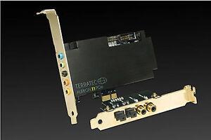 TerraTec Aureon 7.1 PCIe Sound Card 64Bit