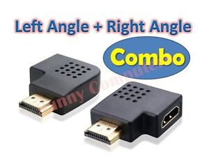 HDMI-Female-to-Male-90-Degree-Left-Right-Angle-Vertical-Flat-Adapter-Connector