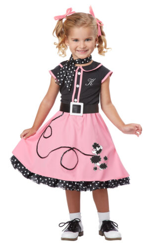 Grease 50/'s Poodle Cutie Toddler Costume