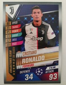 2020-Match-Attax-101-Cristiano-Ronaldo-Soccer-Card-Team-of-the-Year-Juventus