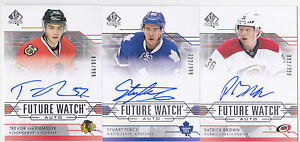 14-15-SP-Authentic-Patrick-Brown-999-Auto-Rookie-Future-Watch-Hurricanes-2014