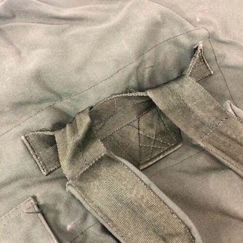 USGI Luggage Carry Straps DEFECT Military Duffle Bag OD Green Nylon Sea Bag